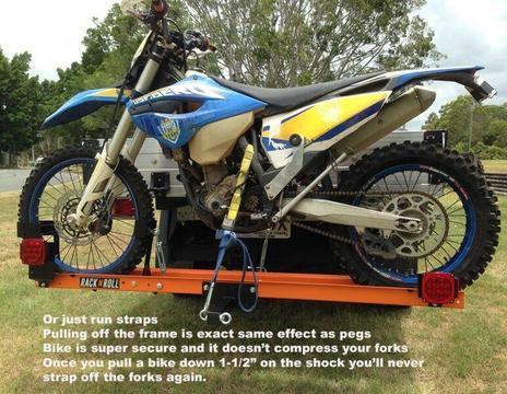 Rack'n'Roll Motorbike Carrier Rack