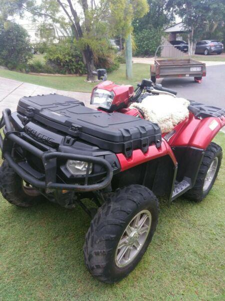 Polaris quad bike