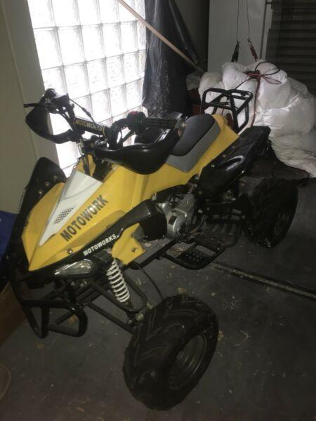 Motowork 125cc ATV Quad Bike
