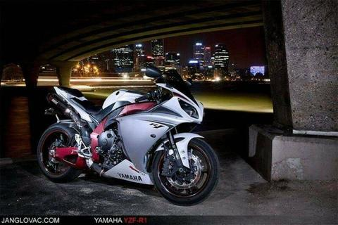 Yamaha YZF-R1 2009 - Red Anodized Frame