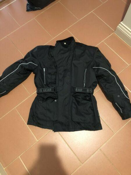 Bikers Gear Australia - black motorcycle jacket