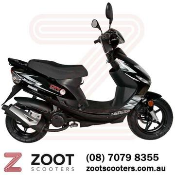 50cc Scooter Zoot City $1,995 Drive Away