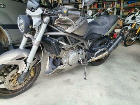 Cagiva raptor 1000 motorcycle