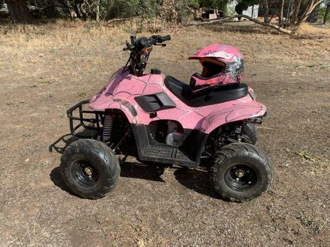 Moto works 110cc kids auto ATV quad bike