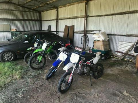 Wanted: Wtb cheap dirt bikes