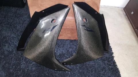 07/08 Yamaha R1 carbon fibre parts