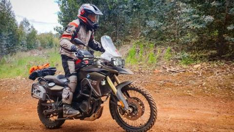MSC Moto Ralle-Moto Axis Offroad Steering Damper - BMW F800GS 700 650