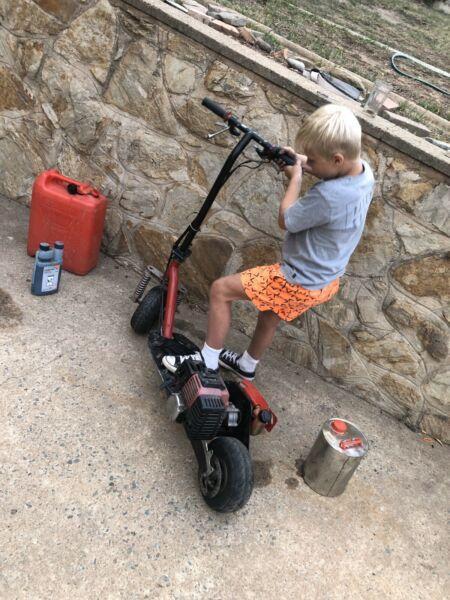 Petrol scooter 49 cc