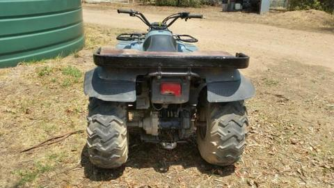 Yamaha Moto 4 350 quad bike 2 wheel drive