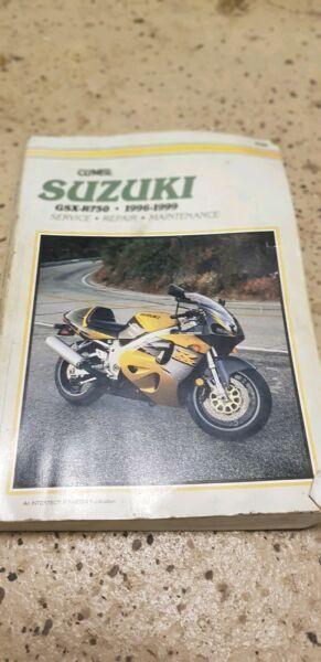 suzuki GSXR 750 manual