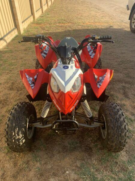 Polaris 90cc quad bike