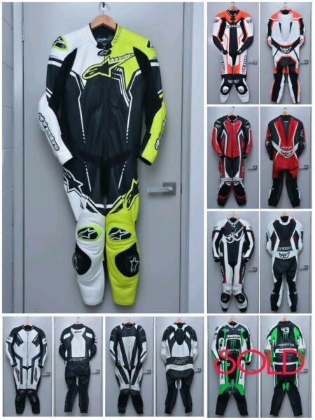 Berik Rst Alpinestars 1pc 2pc Racing Suit Leather
