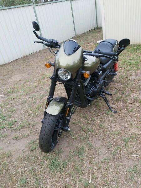 2019 Harley Davidson street rod 750 - 2months old