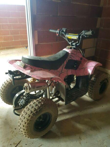 110cc atv quad girls pink mx kids four wheeler
