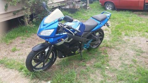 2009 Kymco Quannon 125 motorbike