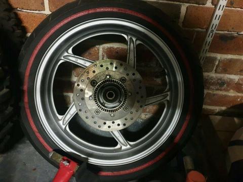 CBR 250r Abs rear wheel