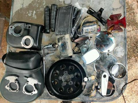 Harley Davidson used parts