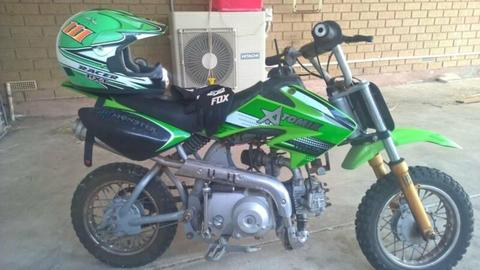 Atomik 50cc Dirt bike for sale