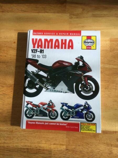 Yamaha r1 service manual