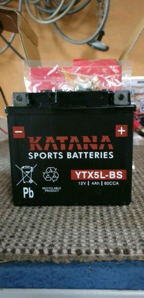 NEW YTX5L-BS MOTOR BIKE BATTERY
