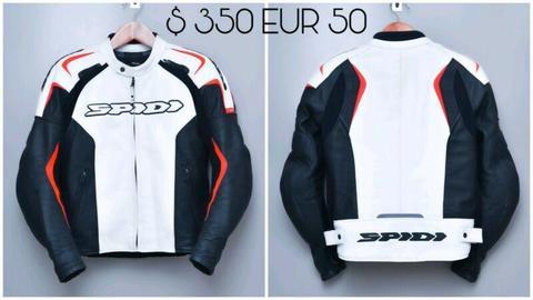 Spidi Leather Jacket Euro 50