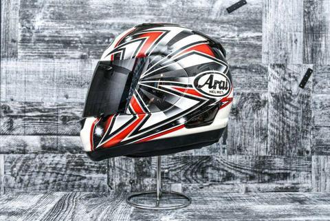 Arai RX-Q Talon Red Helmet Medium