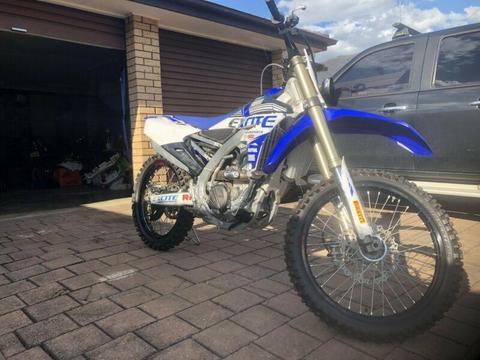 2017 YZ250F dirt bike