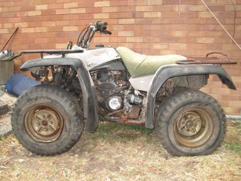 Yamaha Big Bear 350 4X4 ATV - Running