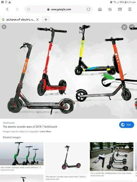 Wanted: Wanted any old motorised scooters, motors, 12v batteries etc