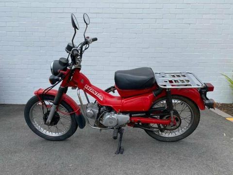 2002 Honda CT110 Postie Bike