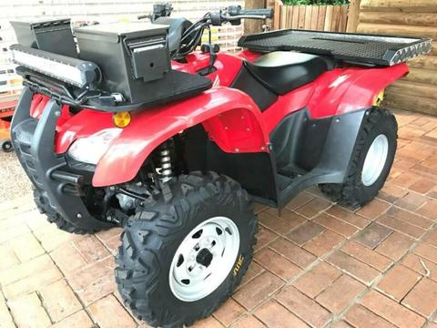 Honda TRX420FM 4x4 Quad ATV