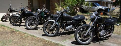 YAMAHA XS 650 Collection, plus over $10,000 US in parts