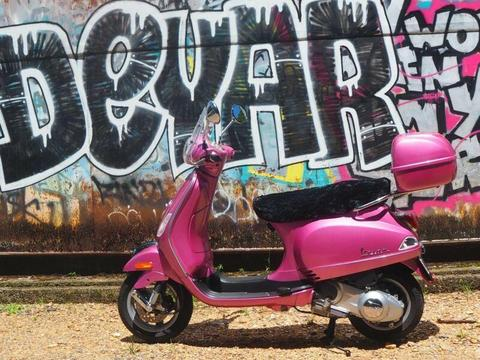 Pink Vespa 150cc Scooter (A little Italian Magic)