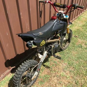 140cc motorbike