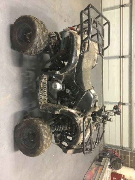 125 full automatic quad bike
