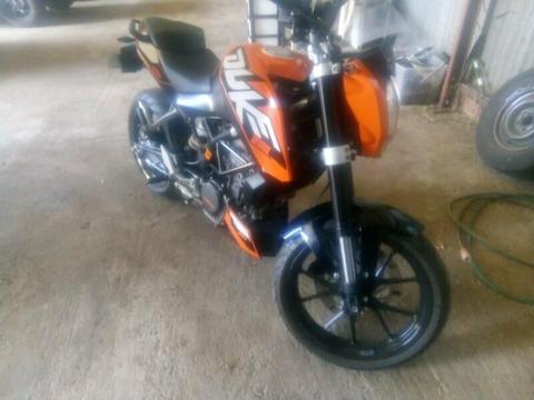 KTM Duke 200cc abs sell or swap