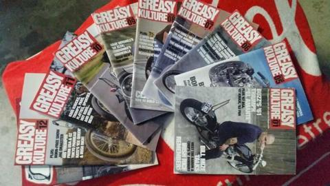 Harley Triumph Chopper Bobber Magazines