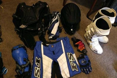 Full motorcross/enduro gear