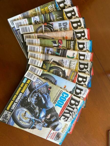 Old Bike Australia Magazines