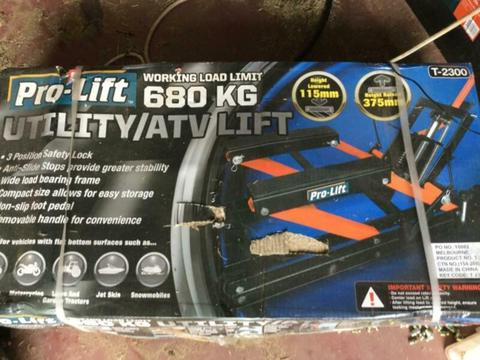 ATV lift
