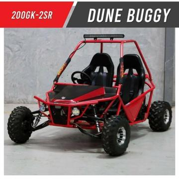 200GK-2SR | Double seater twin XL Premium Off road Dune buggy 200cc