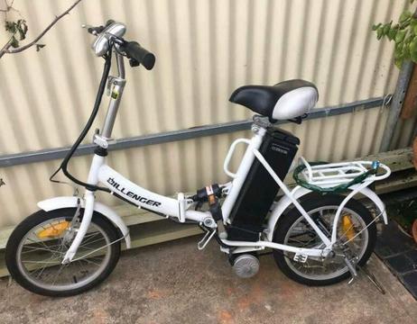 Dillenger folding E-bike