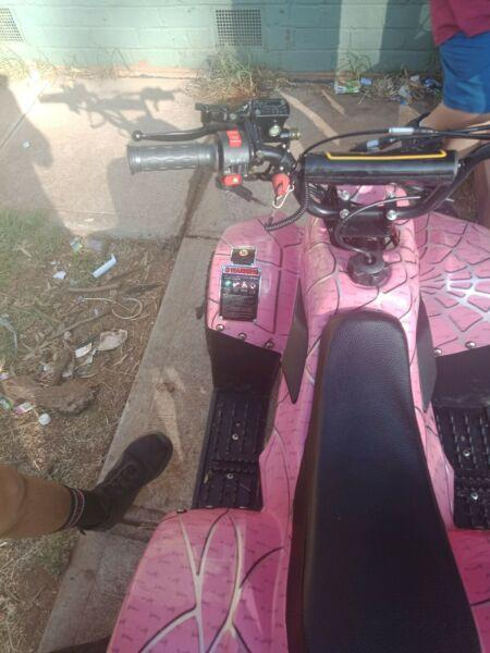 110 automatic quad