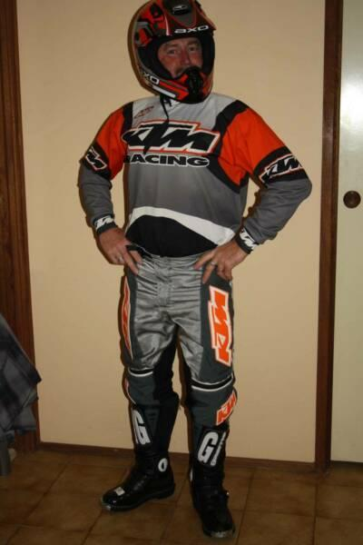 KTM Off Road Riding Gear and Extras