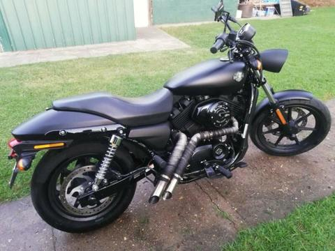 Harley Davidson 2016 Street XG500 (Learner legal)