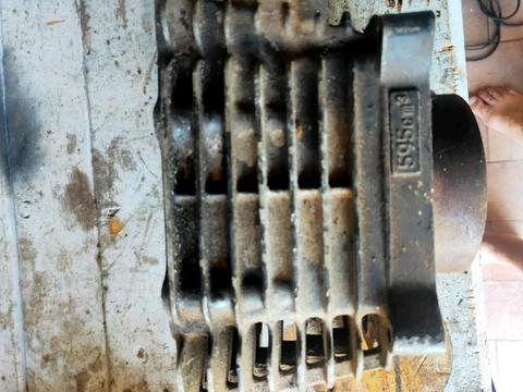 A.C Generator & Piston top head