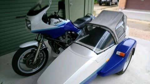 Yamaha 1985 XJ900F and rare EZS sidecar